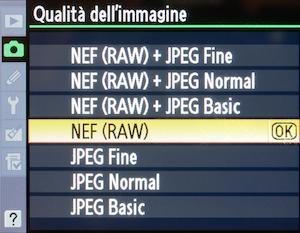 what is nef raw + jpeg fine