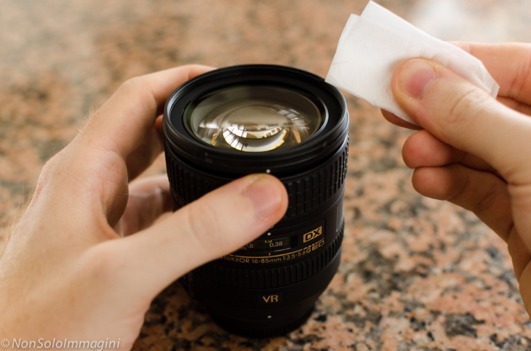 pulizia-lente-obbiettivo