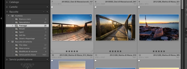 Lightroom-Raccolte-e-set-di-Raccolte