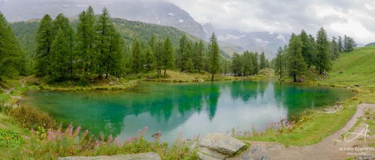 Lago Blu, Breuil-Cervinia